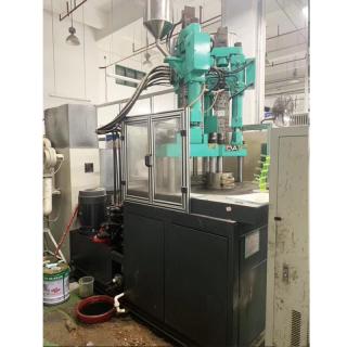 上海积健120吨立式分体双色二手注塑机