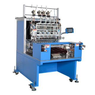 WZY-P10004LA全自动4轴精密排线绕线机  4/6 Spindle Automatic Winding and Taping  Machine