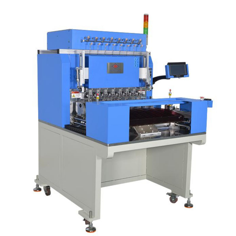 WZY-7808WT 全自动8轴精密带绞线绕线机 Automatic 12/16 Spindle Precision Winding and Taping Machine