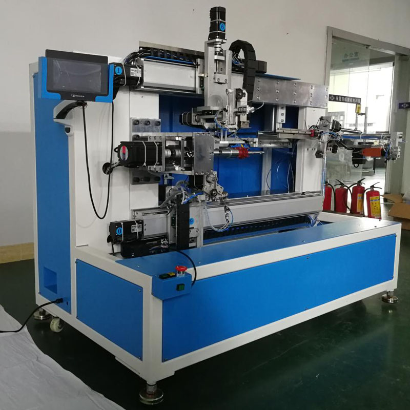 WZY-NS200AL 非标单轴大型变压器粗线阿尔法绕线机 Customized Single Spindle Large Transformer Coil Alpha Winding Machine