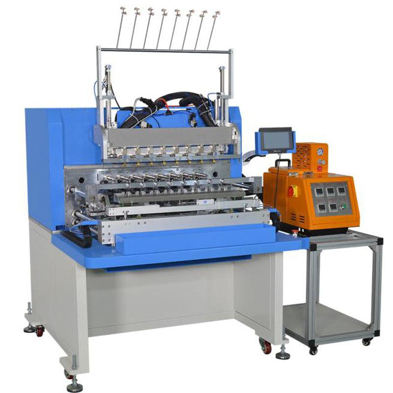 WZY-NS7808LC/HMA 全自动绕线点胶机 8 Spindle Automatic Dispensing&Winding Machine