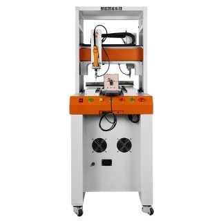 背靠背型全自动锁螺丝机 双平台xyz双头吸附式作业 定制