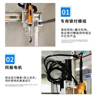 在线吹起式玩具车自动锁螺丝机 龙门式全自动锁螺母机