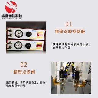 双工位精密点胶固化一体机 UV紫外固化点胶机 高速点胶机 全自动点胶机