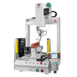 全自动 焊锡机 六轴 机械手 电子元件 pcb板 烙铁焊