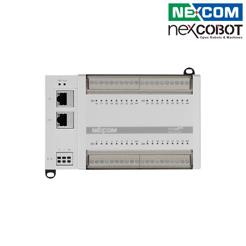 台湾新汉 紧凑型EtherCAT I/O模块 32-ch数字量输出 兼容正/负向开关