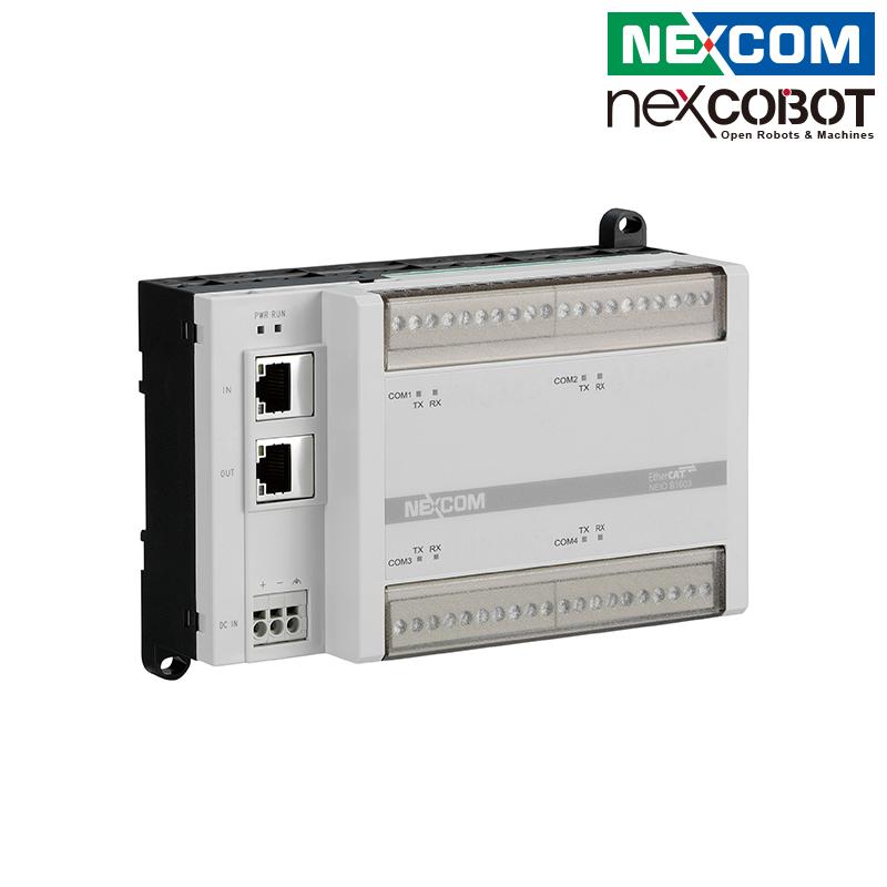 台湾新汉 紧凑型EtherCAT to COM模块 4-ch串口通讯