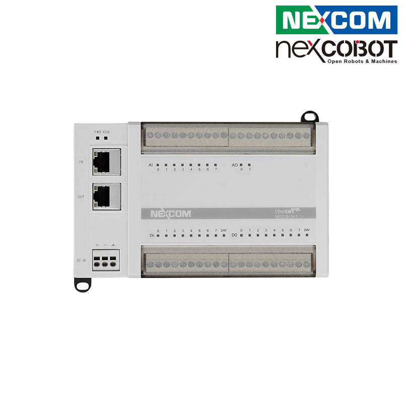 台湾新汉 模拟量EtherCAT I/O模块 8-ch AI/ 2-ch AO/ 8-ch DI/ 8-ch DO
