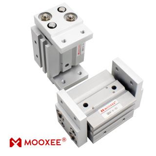 牧气精密QDA16-30宽型气爪 长行程高夹力 气动执行元件现货定制