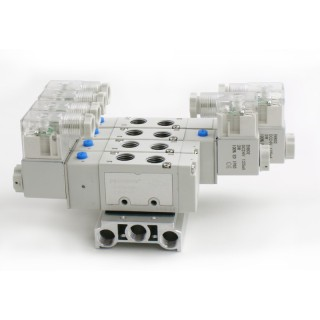 牧气精密VC110-5D两位五通电磁阀 长寿命 气动控制元件现货定制