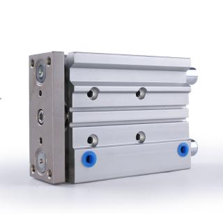 牧气精密CEM20-30M-TC三轴气缸 高载荷高精度 气动执行元件现货定制