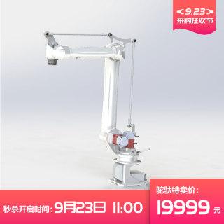 卓林全新轻量化 强力型四关节机器人  机器人机械手小型物料视觉上下料机器人CRB6-1400 询电话13829154677