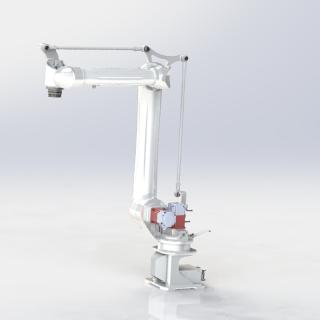 卓林全新轻量化 强力型四关节机器人  机器人机械手小型物料视觉上下料机器人CRB6-1400