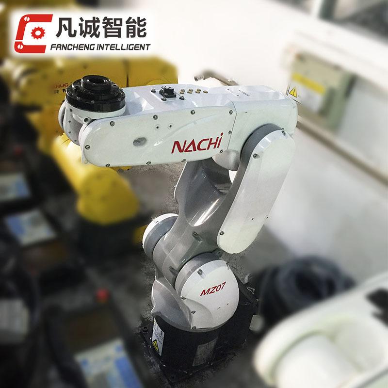 工业机器人 那智MZ07二手工业机器人  上下料机械臂 小型机械手