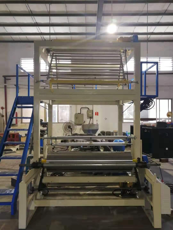 电线膜吹膜机铝材包装膜生产设备自动化PVC静电膜吹膜机