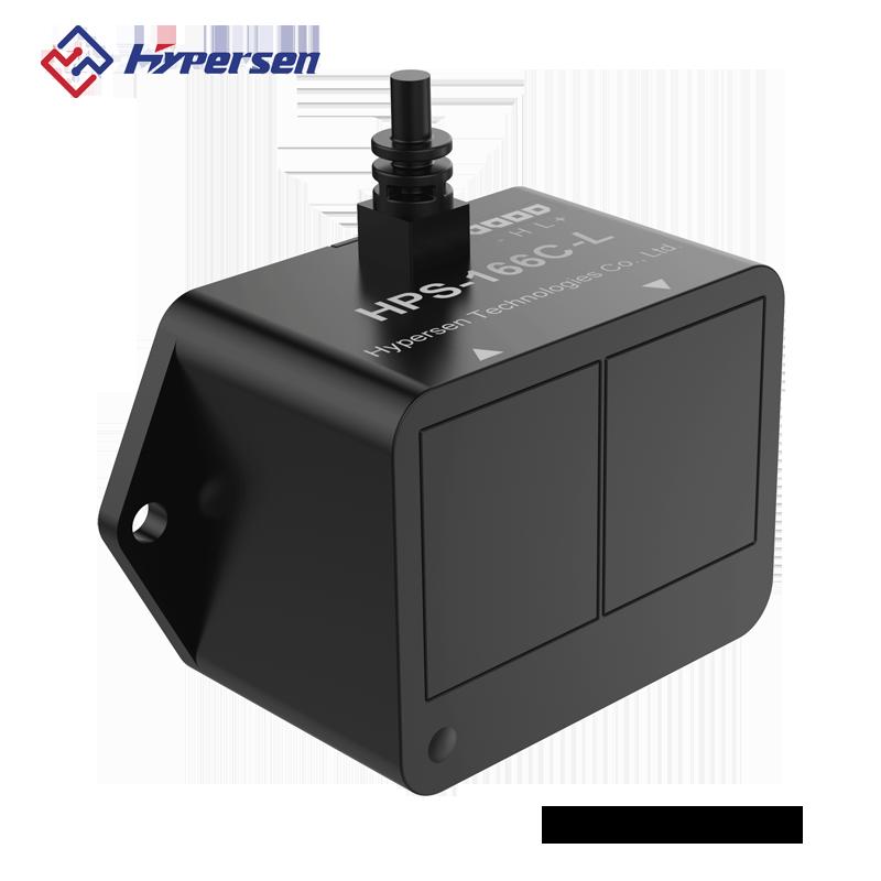 避障测距传感器 TOF 激光传感器 32米 HPS-166C/U-L 带防水外壳