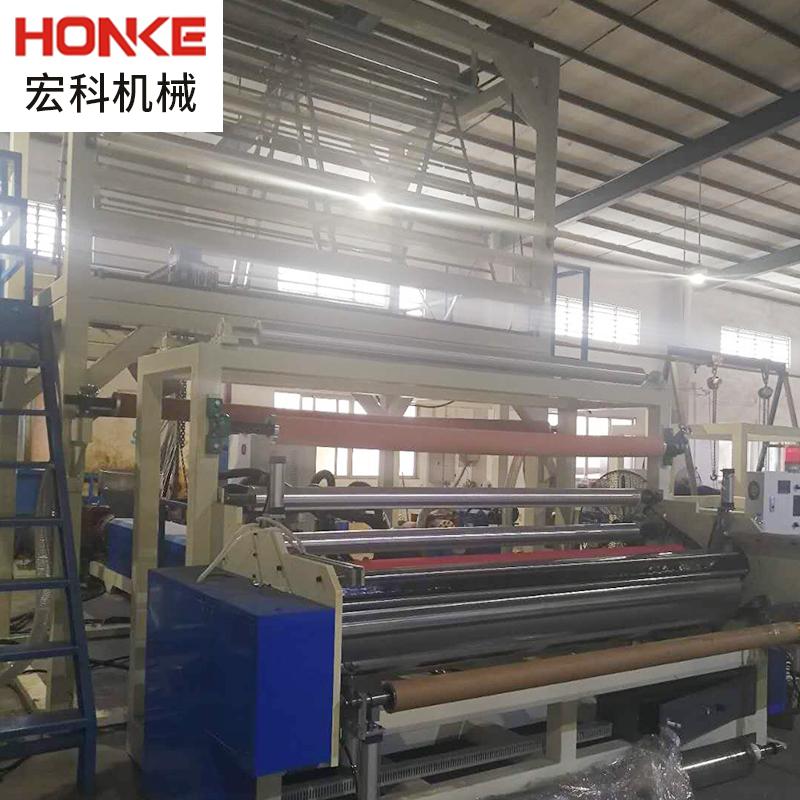 厂家供应PVC床垫膜吹膜机 电线膜吹膜机 小型自动吹塑机吹膜机
