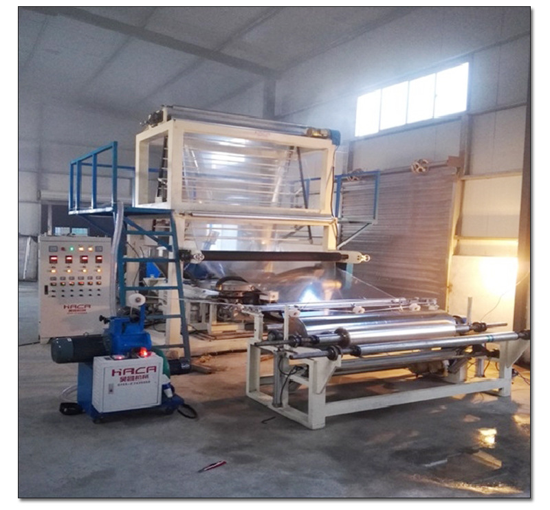 PVC吹膜机械设电线包装薄膜机PVC吹膜机 吹膜机电线膜生产设备