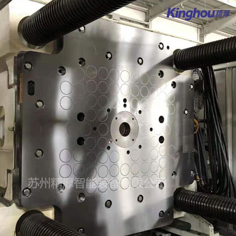 苏州精厚快速换模系统150T注塑机全钢型磁力模板 电控永磁快速换模系统
