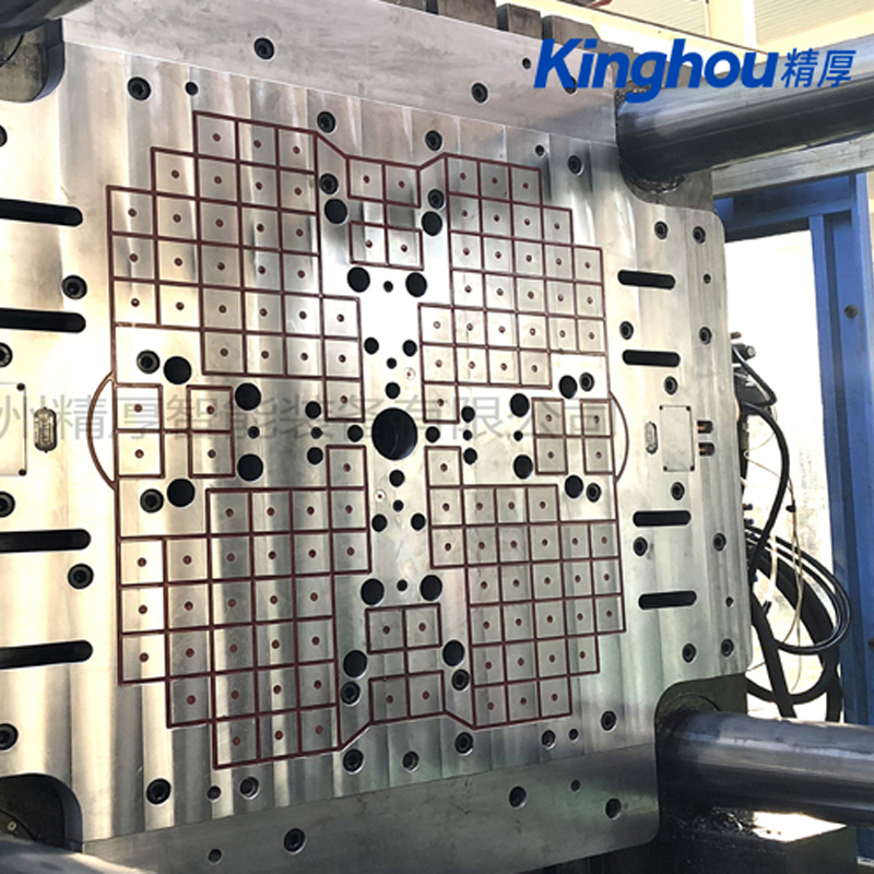 苏州精厚快速换模系统150T注塑机树脂型磁力模板 电控永磁快速换模系统