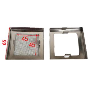 流水线配件 6262铝盖铝材封盖皮带线配件 五金防尘盖