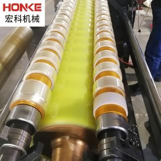 供应直销全自动机用膜切割设备加工 定制PVCPE缠绕膜分切机机包膜 薄膜分切缠绕膜设备
