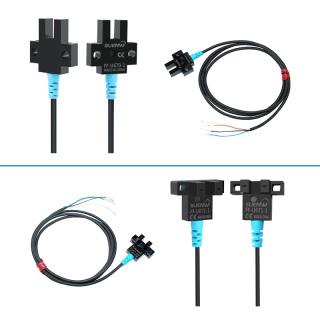 SUENW神武U槽型光电式限位开关感应传感器FF-U671-1替EE-SX671-WR可定做加长线