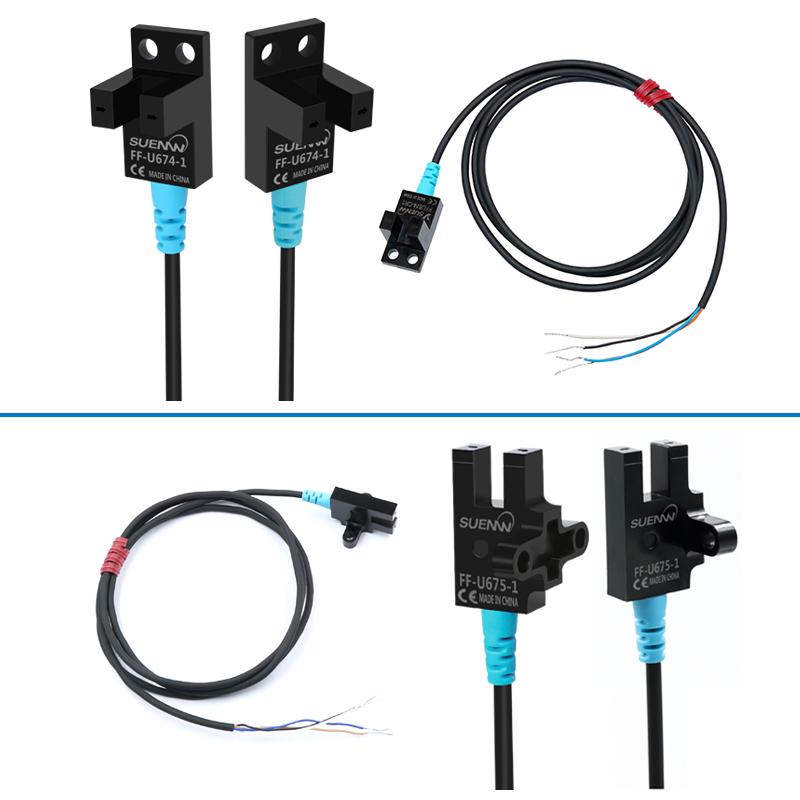 SUENW神武U槽型光电式限位开关感应传感器FF-U675-1替EE-SX675-WR
