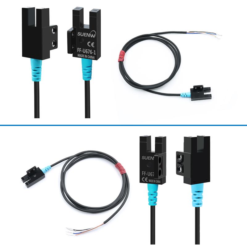 SUENW神武U槽型光电式限位开关感应传感器FF-U677-1替EE-SX677-WR