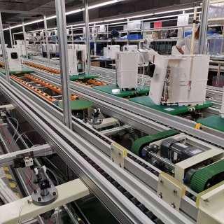 自动装配线 组装线  生产线 倍速线 皮带线 流水线--3C产品及电机装配线