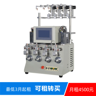 F-400ZN 半自动4轴精密排线绕线机  4 Spindle Semi-automatic Winding Machine""