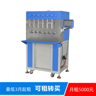 F-TW10006 半自动6轴绕线绞线机  6 Spindle Semi-automatic Winding Machine""