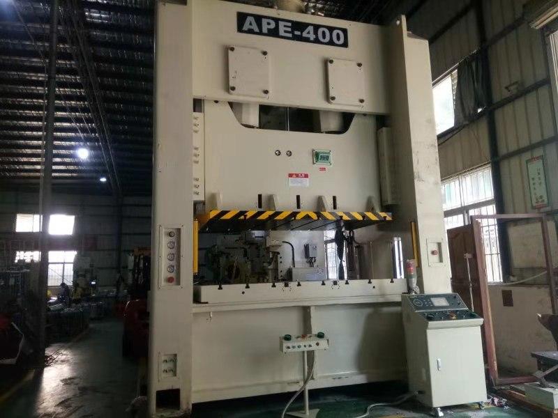 APE-400双曲轴高速精密气动冲床.钢板.伺服冲床