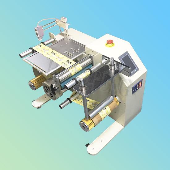 包装膜膜PEM塑料带标签软卷材复卷分卷机匀速复卷机