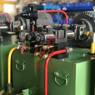 力研 厂家定制10HP液压系统 自带油温冷却液压系统