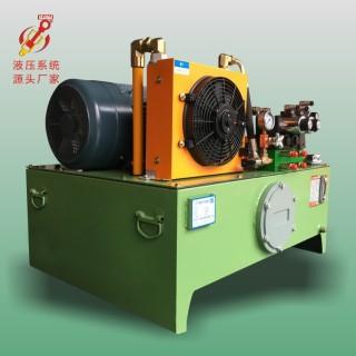 力研 定制液压站 多缸多油路控制液压站 3HP-VP30自带风冷液压站