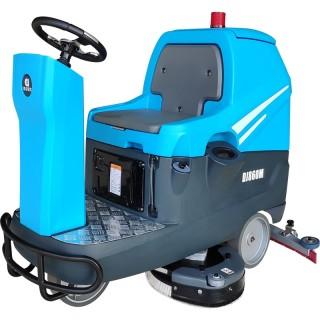 厂家直销驾驶式全自动洗地机DJ860M地下停车场扫地机