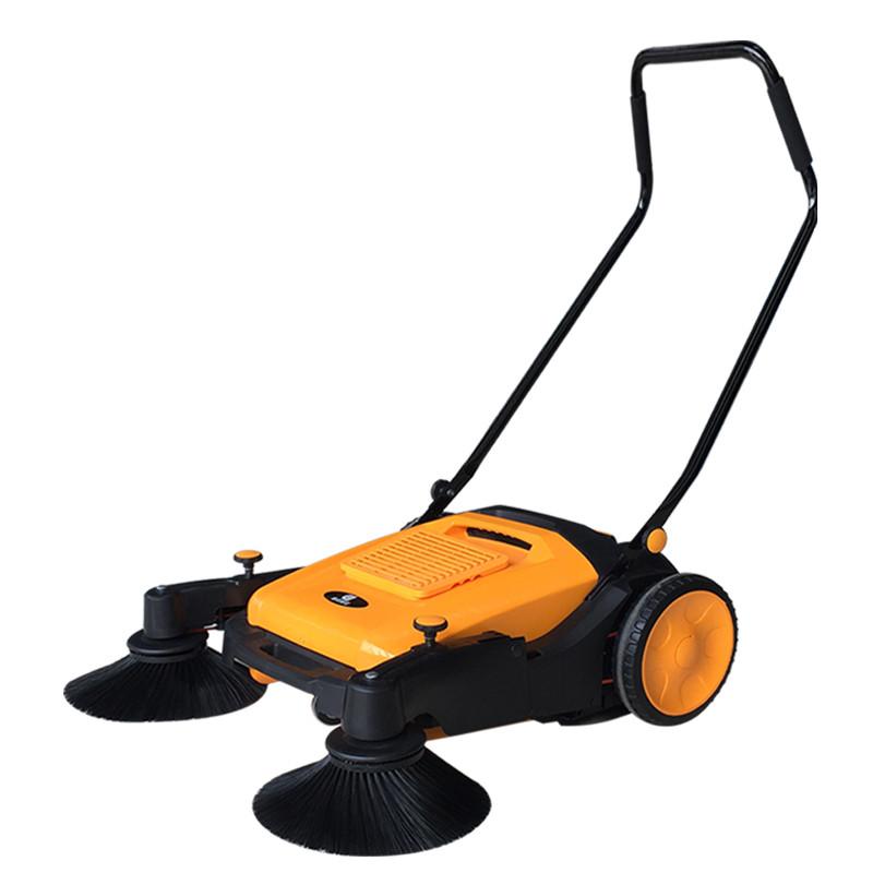 小型清扫车-手推式扫地机-车间扫粉尘用扫地机