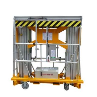 牛力厂家直销桅柱式升降机-双桅移动式升降平台-电动液压