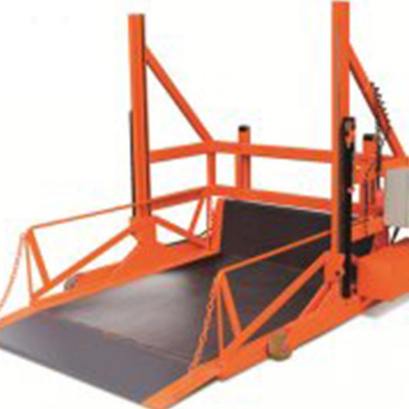 装卸货平台移动式登车台