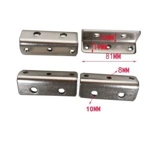 流水线配件4080/3060松紧L块 输送带紧固件轴承座调整块连接块