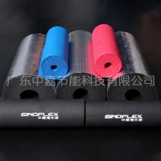彩色、铝箔橡塑管材  b1级阻燃空调橡塑管 闭孔橡塑管 铝箔贴面橡塑管保温棉