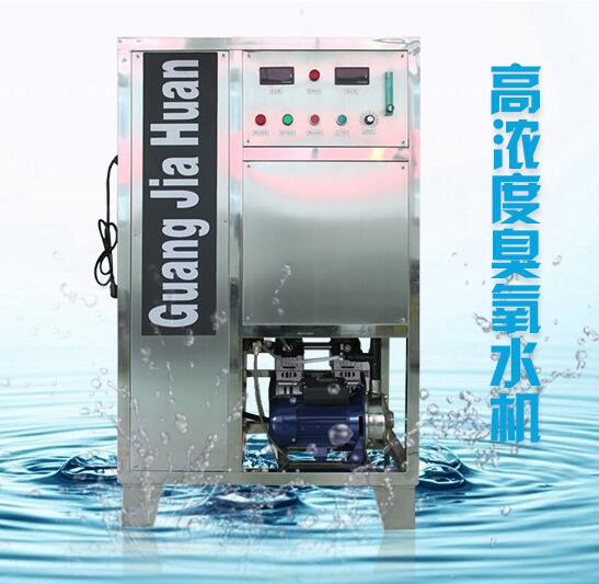 30克氧气源臭氧发生器 臭氧水机 带混合罐
