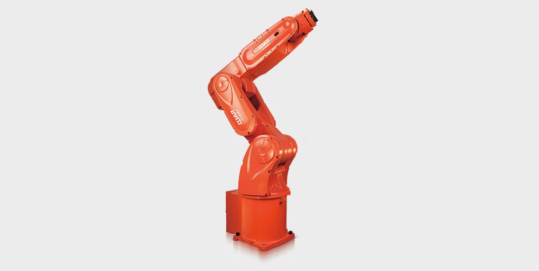 钱江机器人:汽车空调压缩机活塞机加工上下料