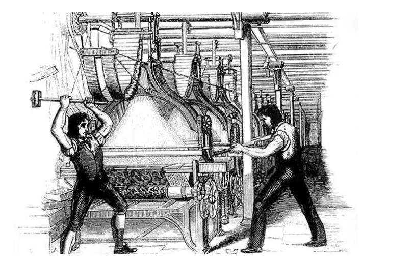 工业上机器换人带来的失业问题如何看待?美国曾经这样做!中国走在路上!